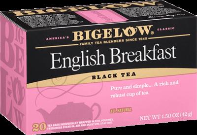 Tea, Bigelow® Black Tea, English Breakfast® 1.5 oz Box (20 Bags)