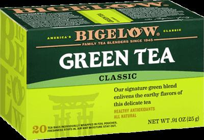 Tea, Bigelow® Green Tea® .91 oz Box (20 Bags)