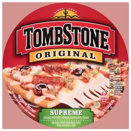 Frozen Pizza, Tombstone® Supreme Pizza (20.8 oz Bag)