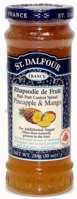 Fruit Spread, St. Dalfour® Pineapple and Mango (10 oz Jar)