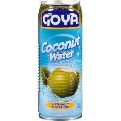 Coconut Water, Goya® Coconut Water with Pulp (7.6 oz Can)