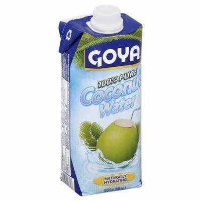 Coconut Water, Goya® 100% Pure Coconut Water (16.9 oz Carton)