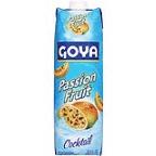 Juice Drink, Goya® Nectar, Passion Fruit (33.8 oz Carton)
