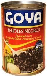 Canned Soup, Goya® Black Bean Soup, 15 oz Can