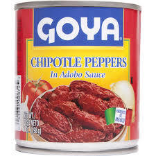 Canned Peppers, Goya® Chipotle Peppers in Adobado Sauce, 7 oz Can