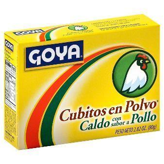 Seasonings, Goya® Chicken Bouillon Seasoning Powder, 2.82 oz Box