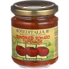 Tapenade, Meditalia® Sundried Tomato Tapenade (4.2 oz Jar)