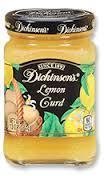 Curd, Dickinson's® Lemon Curd, 10 oz Jar