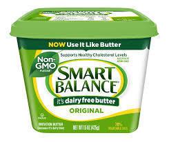 Butter, Smart Balance® Lactose Free Original Buttery Spread (15 oz Tub)