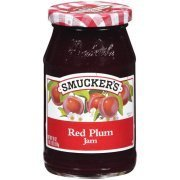 Fruit Spread, Smucker's® Red Plum Jam (18 oz Jar)