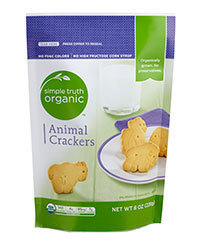 Organic Crackers, Simple Truth Organic™ Animal Crackers (8 oz Bag)