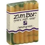 Soap, Zum Bar® Lemongrass Goats Milk Soap (3 oz Bar)
