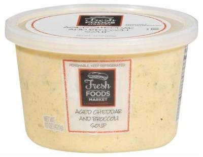 Fresh Soup, Fresh Foods Market® Cheddar Broccoli Soup (15 oz Cup)
