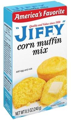 Muffin Mix, Jiffy® Corn Muffin Mix (8.5 oz Box)