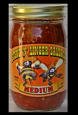 Salsa, Sting 'N' Linger® Medium Salsa (16 oz Jar)