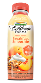 Juice Drink, Bolthouse Farms® Breakfast Smoothie, Peach Parfait (15.2 oz Bottle)