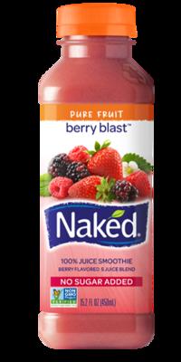 Juice Drink, Naked Juice® Berry Blast® (15.2 oz Bottle)