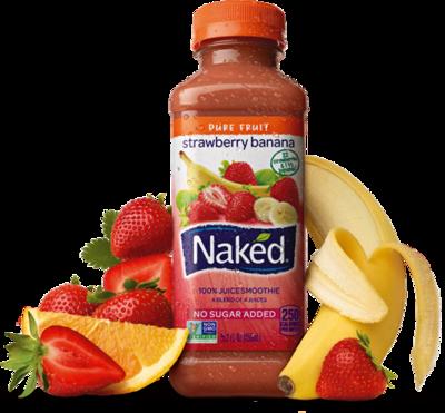 Juice Drink, Naked Juice® Strawberry Banana® (15.2 oz Bottle)