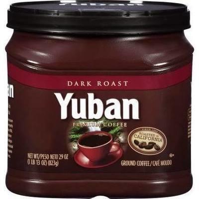 Ground Coffee, Yuban® Dark Roast Ground Coffee (25.3 oz Tub)