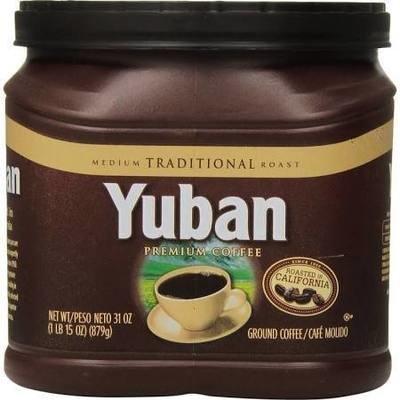 Ground Coffee, Yuban® Traditional Roast® Ground Coffee (31 oz Tub)