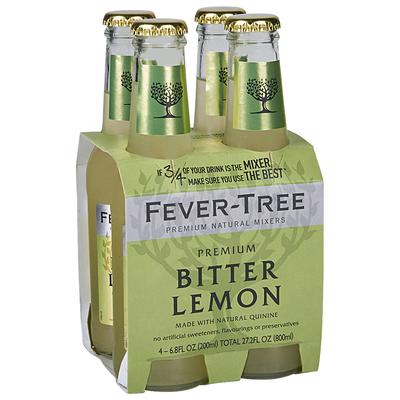 Drink Mixer, Fever-Tree® Bitter Lemon ( 4 Pack, 12 oz Bottles)