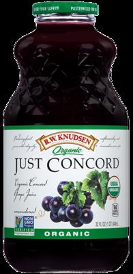 Juice Drink, R.W. Knudsen® Just Concord Grape™ Juice (32 oz Bottle)