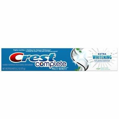Toothpaste, Crest® Complete Extra Whitening (6.2 oz Box)