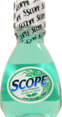 Mouthwash, Scope® Original Mint Mouthwash (1.49 oz Bottle)