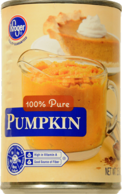 Canned Pumpkin, Kroger® 100% Pure Pumpkin (15 oz Can)