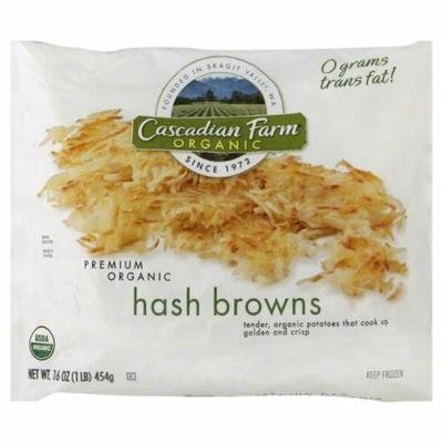 Frozen Potatoes, Cascadian Farm® Shredded Hash Browns (16 oz Bag)