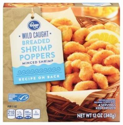 Frozen Shrimp, Kroger® Shrimp Poppers (12 oz Box)