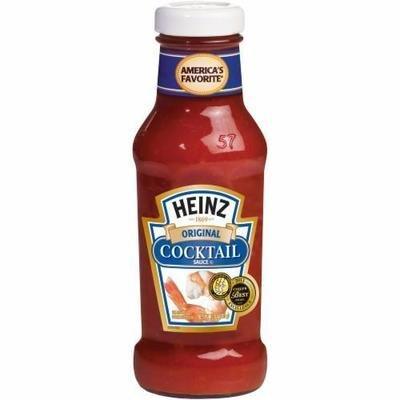 Cocktail Sauce, Heinz® Cocktail Sauce (12 oz Bottle)