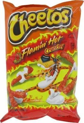 Snack, Frito-Lay® Cheetos® Flamin' Hot Crunchy (8.5 oz Bag)