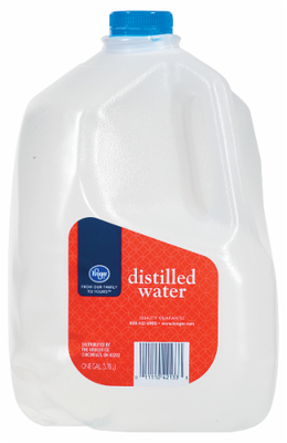Distilled Water, Kroger® Distilled Water (1 Gallon Jug)