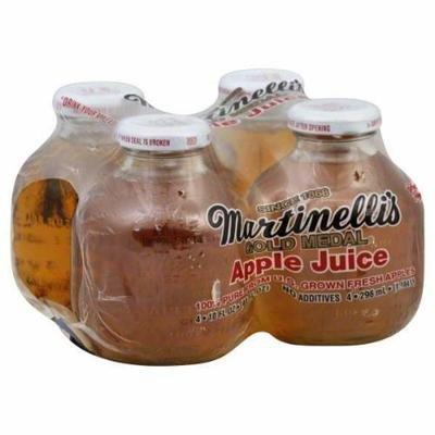 Apple Juice, Martinelli's® 100% Apple Juice (4 Bottles, 10 oz Bottle)