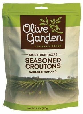 Salad Croutons, Olive Garden® Seasoned Croutons (5 oz Bag)