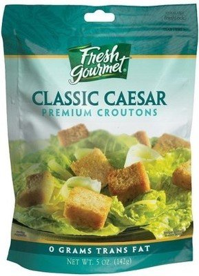 Salad Croutons, Fresh Gourmet® Classic Caesar Croutons (5 oz Bag)
