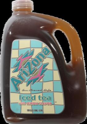 Tea, Arizona® Half & Half® ½ Raspberry Tea ½ Lemon Tea (128 oz Jug)