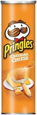 Potato Chips, Pringles® Cheddar Cheese Potato Chips (5.96 oz Can)