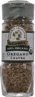 Seasonings, McCormick Gourmet® Oregano Leaves (0.5 oz Jar)