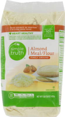 Baking Flour, Simple Truth™ Almond Meal Four (16 oz Bag)