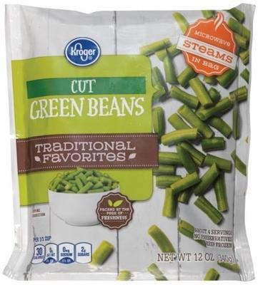 Frozen Green Beans, Kroger® Cut Green Beans (12 oz Bag)