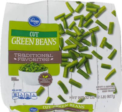 Frozen Green Beans, Kroger® Cut Green Beans (32 oz Bag)