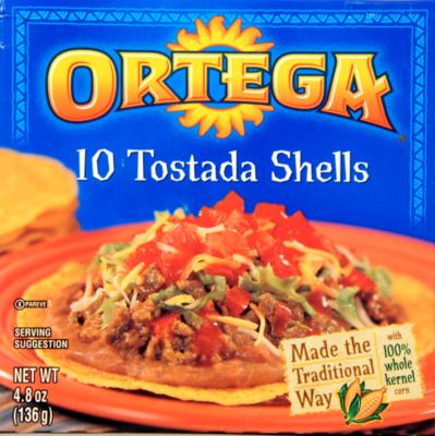 Tostada Shells, Ortega® Tostada Shells (4.8 oz Box)