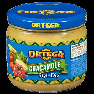Guacamole Dip, Ortega® Guacamole Dip (11.5  oz Jar)