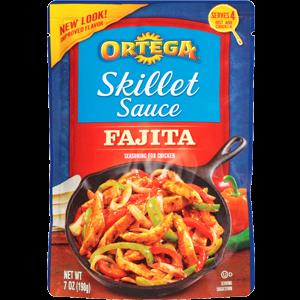 Chile Sauce, Ortega® Cilantro & Green Chile Skillet Sauce (7 oz Bag)