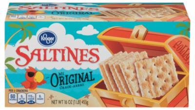 Saltine Crackers, Kroger® Original Thin & Crispy Saltine Crackers (16 oz Box)