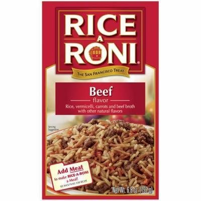 Rice, Rice A Roni® Beef Flavored Rice (6.8 oz Box)