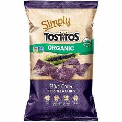 Tortilla Chips, Simply Tostitos® Organic Blue Corn Tortilla Chips ( 8.25 oz Bag)