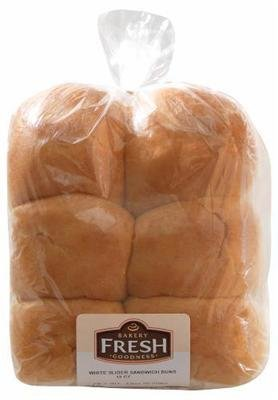 Sandwich Buns, Bakery Fresh Goodness® White Slider Sandwich Buns (12 count, 12 oz Bag)